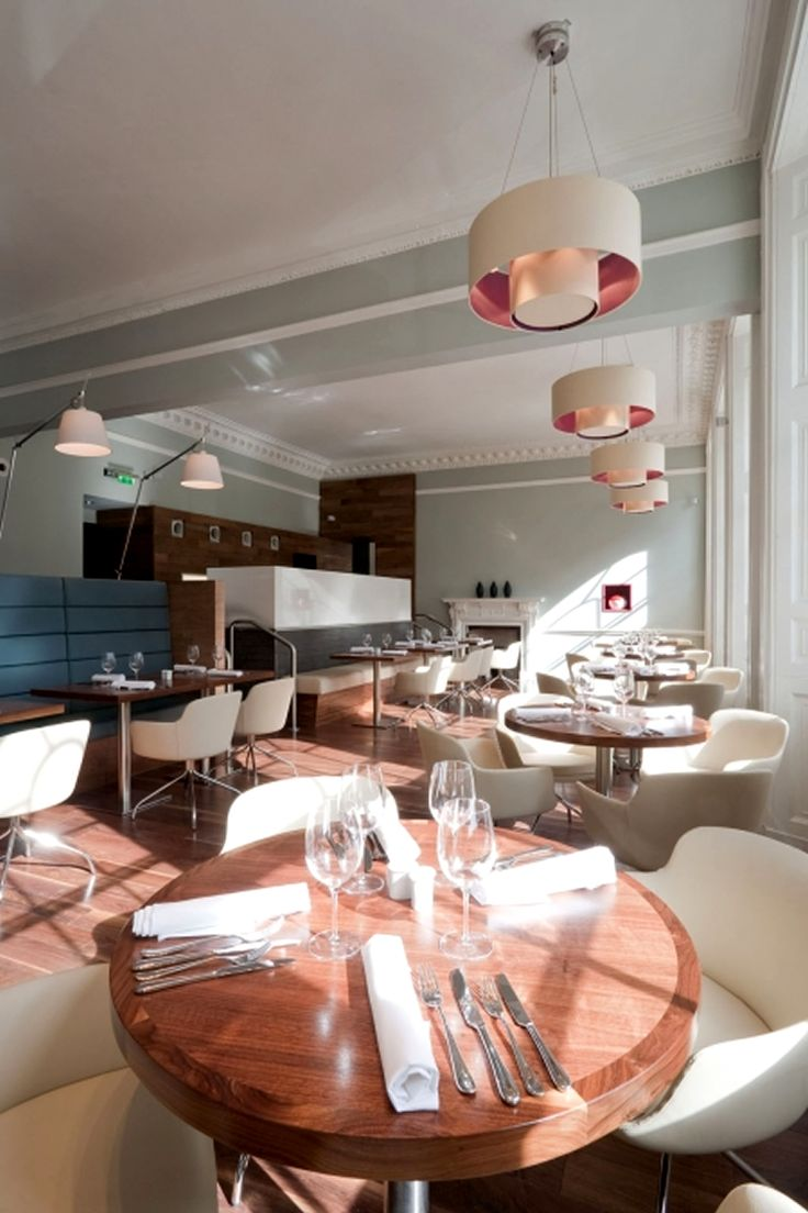 Dining Room, 12 Inspirational restaurant Interior Design Ideas: Contemporay Restaurant And Bar Interior Design Elliot