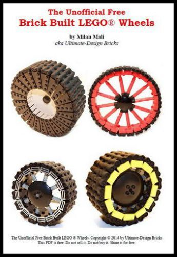 Invite your kids to make wheels from bricks! It can lead to excellent intro to approximation in 3D modeling, or integration in calculus. Invent your own methods, and check out the Unofficial FREE Brick-Built LEGO Wheels Book. More ideas for #MathMakers at http://www.naturalmath.com/category/make/