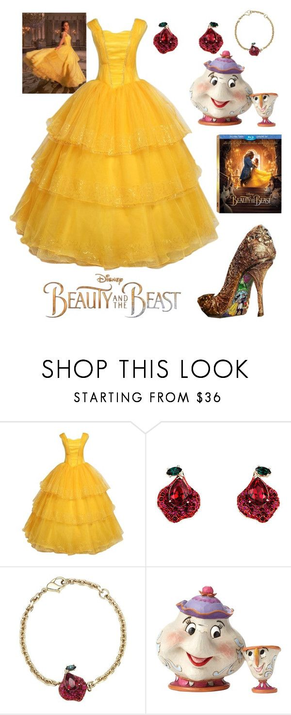 """Untitled #109"" by alexanutella on Polyvore featuring Disney, Atelier Swarovski, BeautyandtheBeast and contestentry"