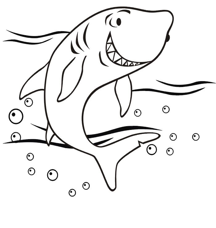 53 best Sharks images on Pinterest Sharks Coloring and Coloring