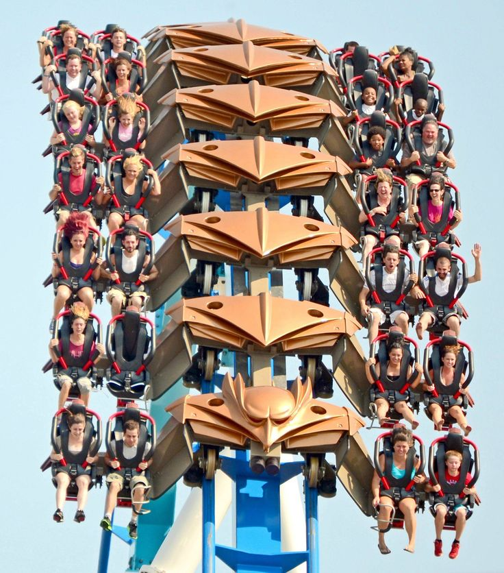 Gatekeeper (Cedar Point) ONE OF THE BEST RIDES EVERRR ESPECIALLY AT NIGHT. --- that's when we were on it.