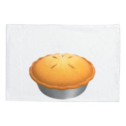 #Pie - Emoji Pillow Case - #Pillowcases #Pillowcase #Home #Bed #Bedding #Living
