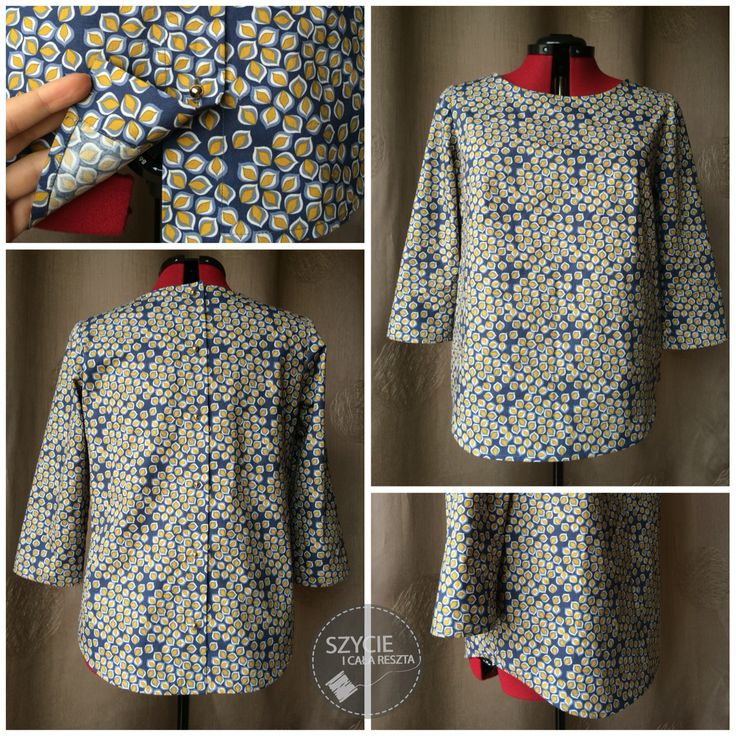 Beatrix pattern shirt from Made by Rae:) perfect one for spring!