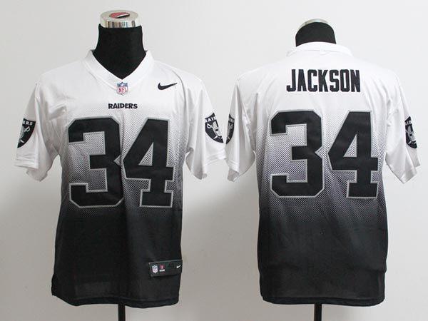 ... 34 Bo Jackson Nlike Drift Fashion II Elite NFL Jersey Nike Raiders 34  Bo Jackson Black Team Color Womens Stitched NFL Elite Handwork Sequin  Lettering ... e0e25eff5