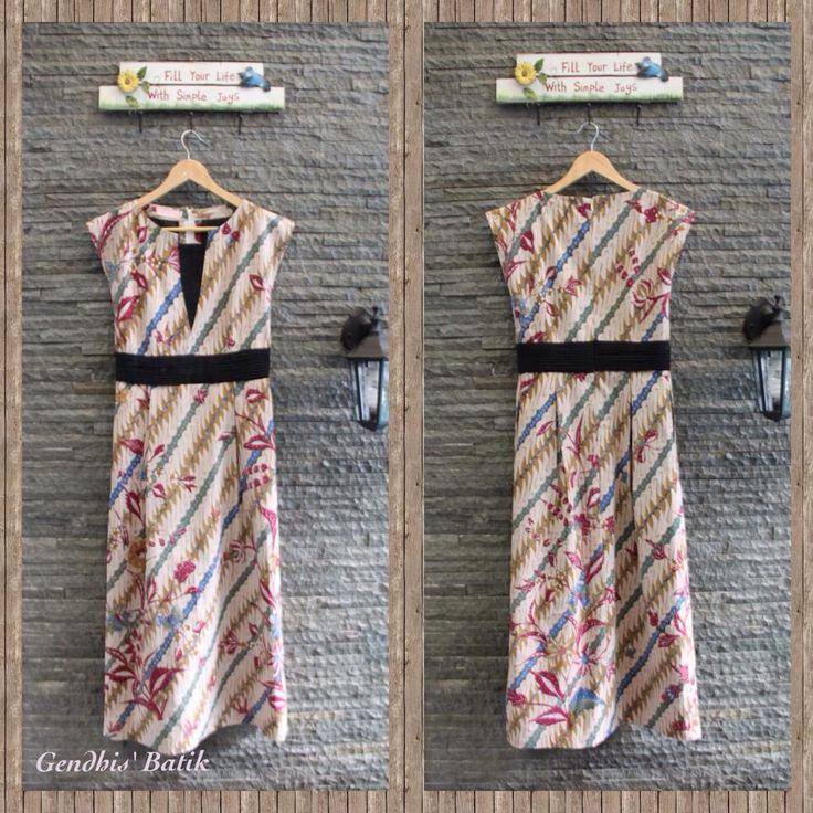 Batik tulis lawas halus Pekalongan + Lining Tricot, by Gendhis' Batik