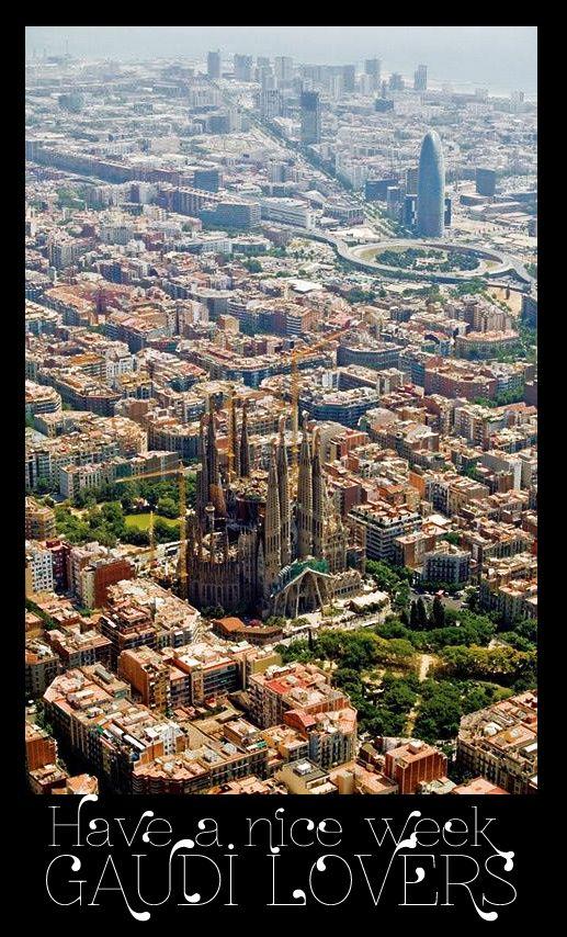 Have a nice week Gaudi lovers.