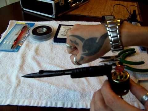 Maquina de tatuar casera - YouTube