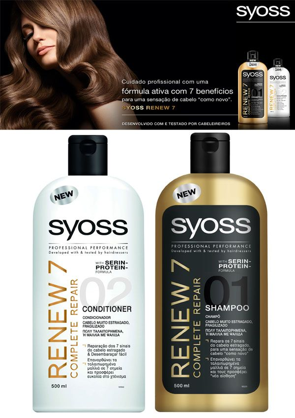 Brilhos da Moda: Syoss Renew 7