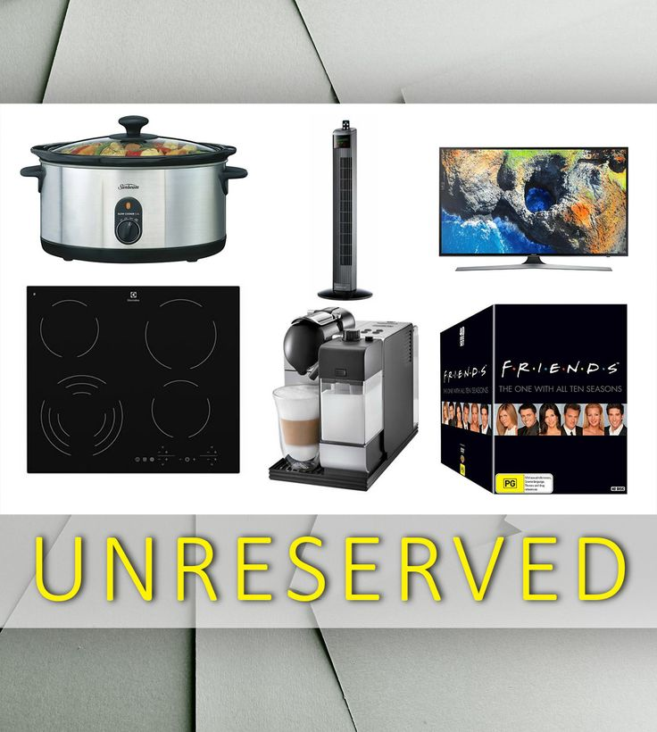 We have a huge UNRESERVED auction which is online NOW!  Vacuums - fridges - wine and beer cabinets - slow cookers -  blenders  and so much more