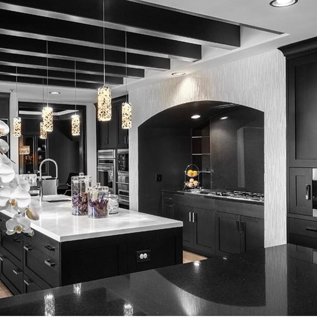 This Black White Kitchen 3 KortenStEiN