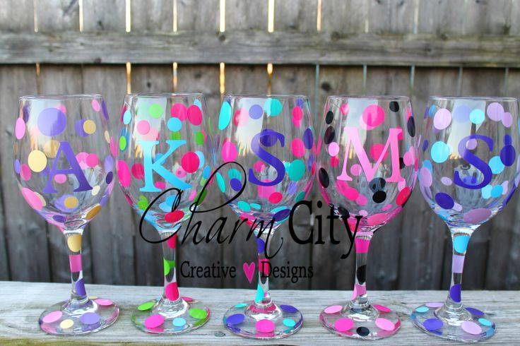 Personalized Wine Glass 20 oz girls night in, girls night out by ahindle78 on Etsy https://www.etsy.com/listing/123917132/personalized-wine-glass-20-oz-girls