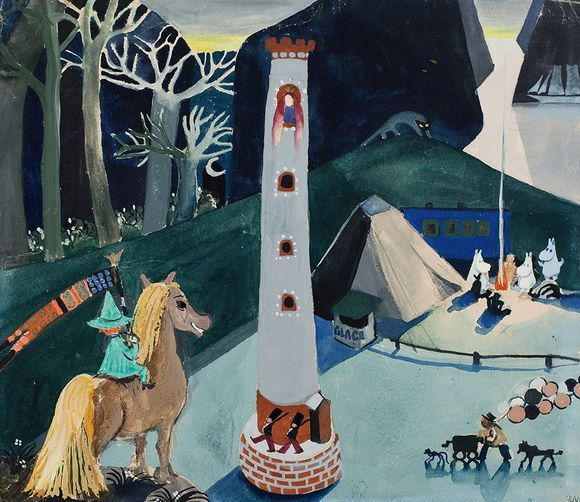 Tove Jansson: Early Moomins (undated). Tampere Art Museum.
