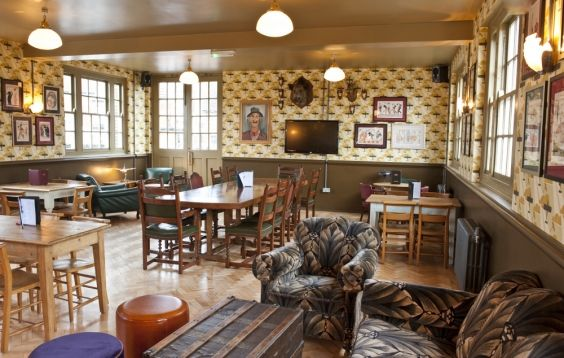 The Cosy Club ~ Stamford.... Layout, yes. Style, no.