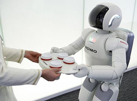ASIMO - an acronym of the words Advanced Step in Innovation Mobility