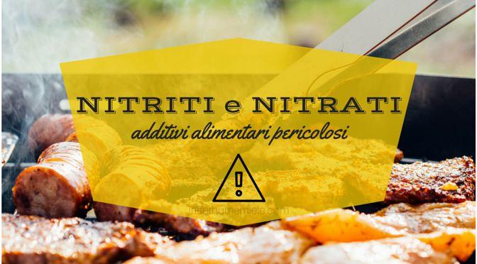 Nitriti e nitrati sono conservanti alimentari usati per le carni. Le carni rosse processate ne contengono in quantità rischiosa per la salute.