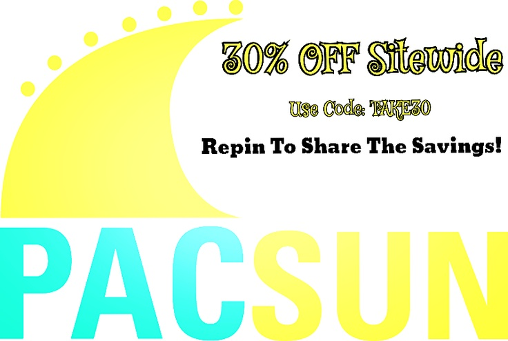 85 best coupon codes of the day images on pinterest coupon codes get 30 off sitewide at pacsun valid until tomorrow wed 20th fandeluxe Choice Image
