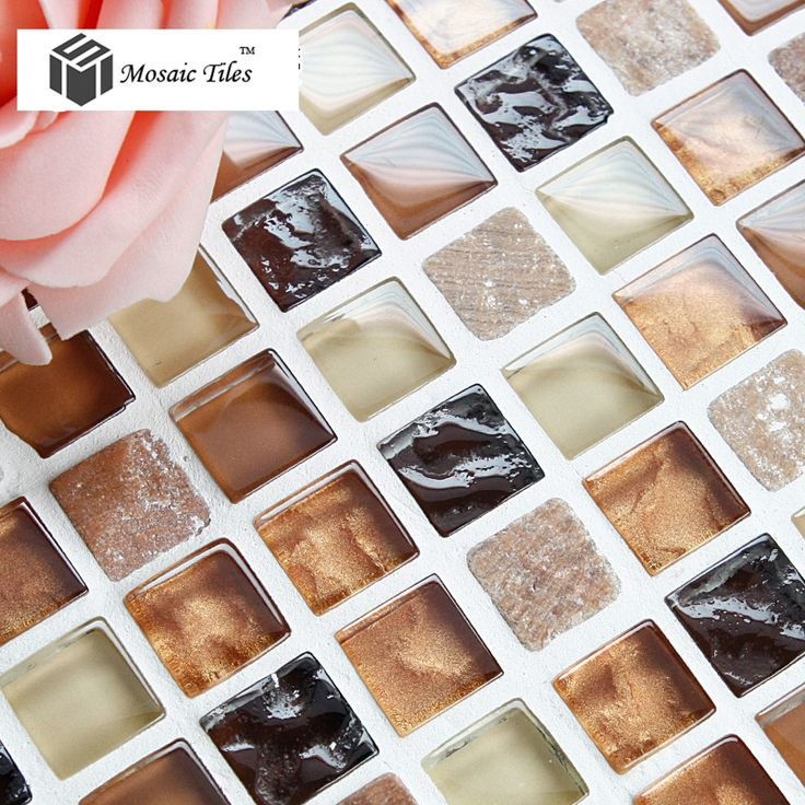 tst naturaleza piedra de mrmol del azulejo colorido arte decorativo mosaico de baldosas de vidrio para