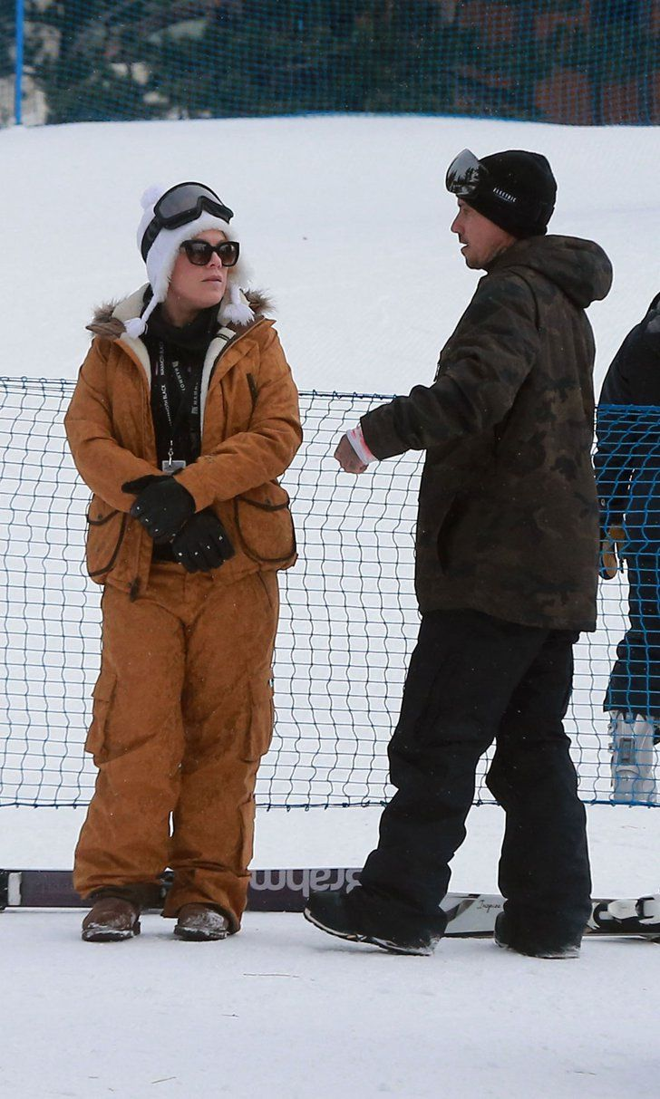 Pink and Husband Carey Hart Hit the Slopes For a Snowy Date