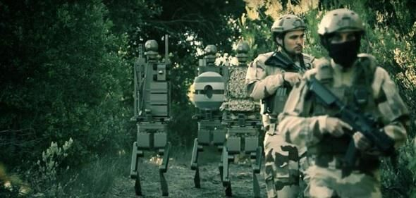 Une société française présente un projet de robots militaires humanoïdes
