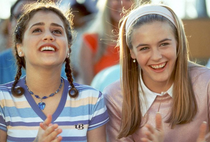 """90sclubkid: """"Brittany Murphy and Alicia Silverstone in Clueless (1995) """""""