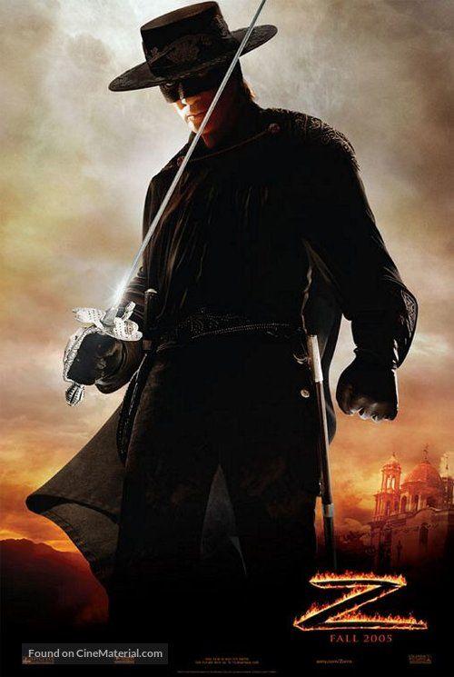 The Mask Of Zorro 1998 U S Movie Poster N Zorro Filme