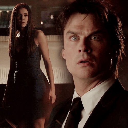 Tvd Finale 8x16 - Delena gif. Pinned by @lilyriverside
