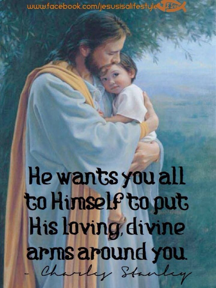 God seeks an intimate relationship with each one of his children, but he won't force it on us. He's a gentleman.