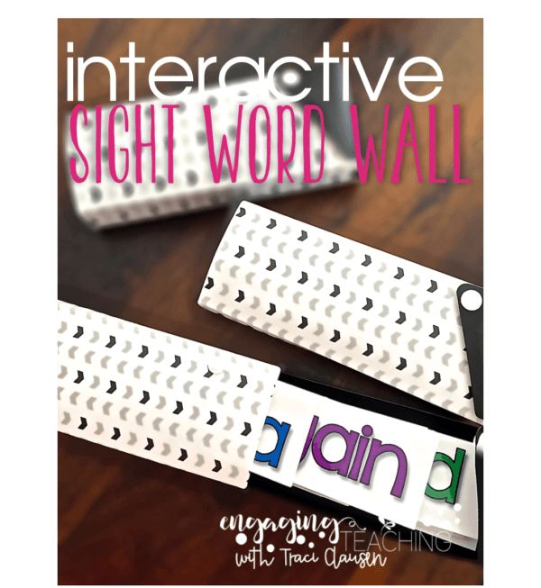 Word walls increase student sight/high-frequency word mastery, aids in assessment, guides instruction and provides LOADS of word work opportunities!
