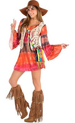 60s Costumes for Women - Hippie Costumes & Costume Ideas - Party City