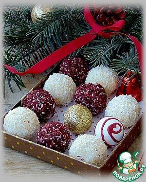 """Конфеты """"Подарочные"""" - шоколад, сгущенка, кокос."""