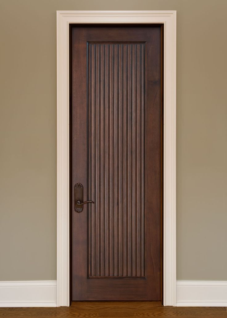 Interior Door Custom - Single - Solid Wood with GLH09 Custom Finish, Artisan, Model DBI-580