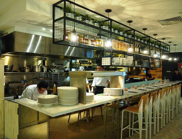 Open Kitchen Restaurant Concept   Google Search