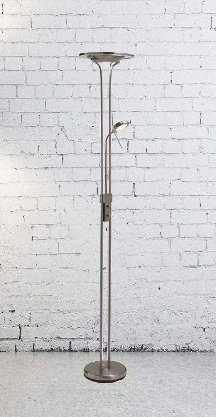 MarkSlojd Chicago, to lampa podłogowa, która posiada dwa źródła światła, co powoduje, że doskonale sprawdzi się jako oświetlenie funkcyjne, ułatwiające nam wykonywanie różnych aktywności.