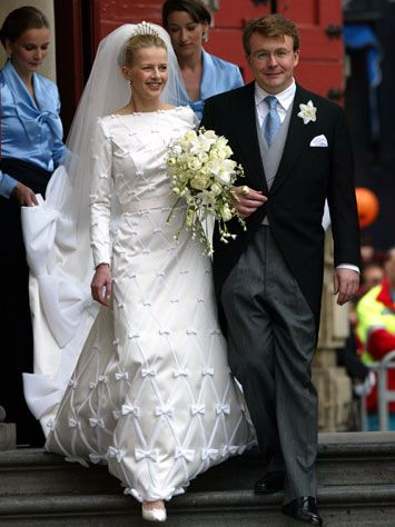 Prince Johan Frisa of the Netherlands weds Mabel