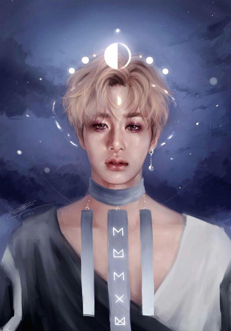 Art Blog Kpop Drawings Hyungwon Shownu Kihyun