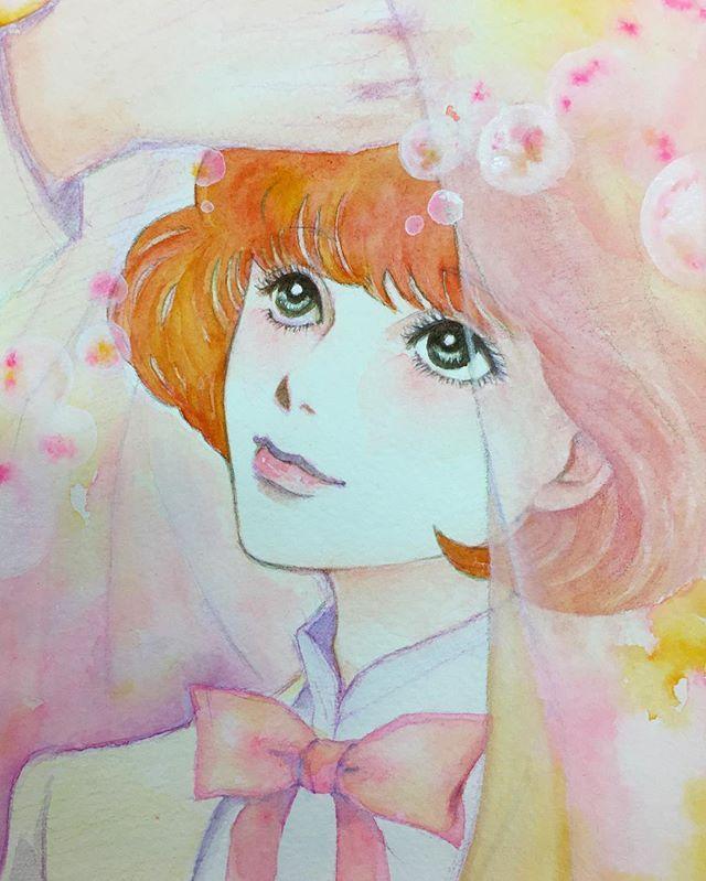 お友達の小説のキャラを描いてプレゼント🎁喜んでもらえてよかった〜❤️ ちなみに、この人物は男の子です。  #イラスト #illustration #イラストレーション #painting #drawing #art #watercolor #水彩 #水彩画 #男の子 #かわいい #もとpfukudamotoko2017/10/03 11:26:35