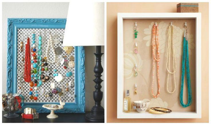 Idee porta gioielli DIY | Bigodino