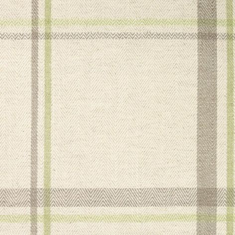 LOXLEY CHECK APPLE UPHOLSTERY FABRIC | LAURA ASHLEY