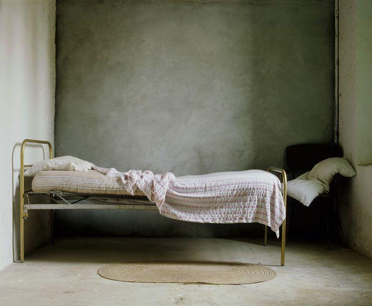 la cama de Vallmanya, 1985.