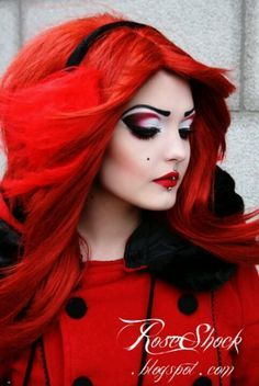dark alice in wonderland makeup - Google Search