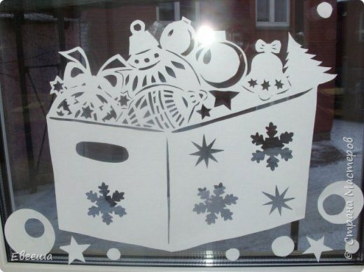 Мои оформленные окна на работе. Идею увидела здесь в СМ. У мастерицы в таком духе была оформлена комната. Я решила перенести эту идею на окно. фото 9