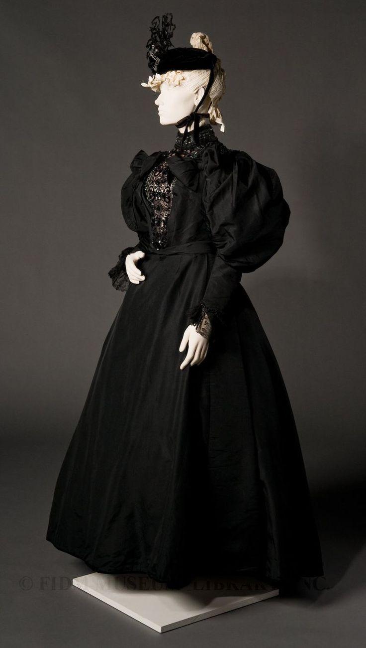 Two-piece formal dress 1894-96