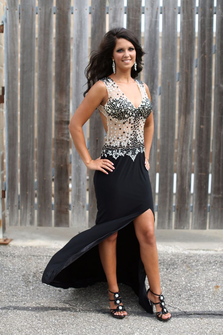 Look at this prom dress with those heals! Don't forget the heals with the dress! #staceysprom