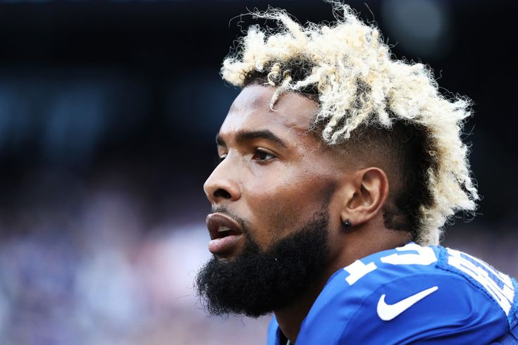 Odell Beckham Haircut http://www.menshairstyletrends.com/odell-beckham-haircut/ #menshair #menshaircuts #odellbeckham #odellbeckhamjr #odellbeckhamhaircut #odellbeckhamhairstyle #mohawkfade #widemohawk #mohawk #frohawk #frostedtips