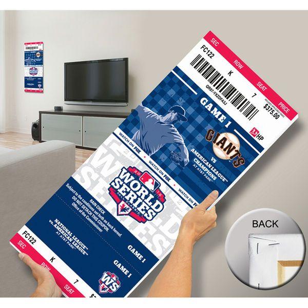 San Francisco Giants 2012 MLB World Series Bound Mega Ticket - $79.99
