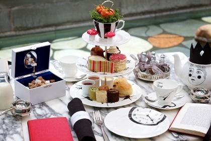 Mad Hatter's Afternoon Tea at Sanderson Hotel - AfternoonTea.co.uk