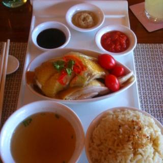 Hainanese Chicken and Rice in Hainan Island, Sheraton Resort Sanya