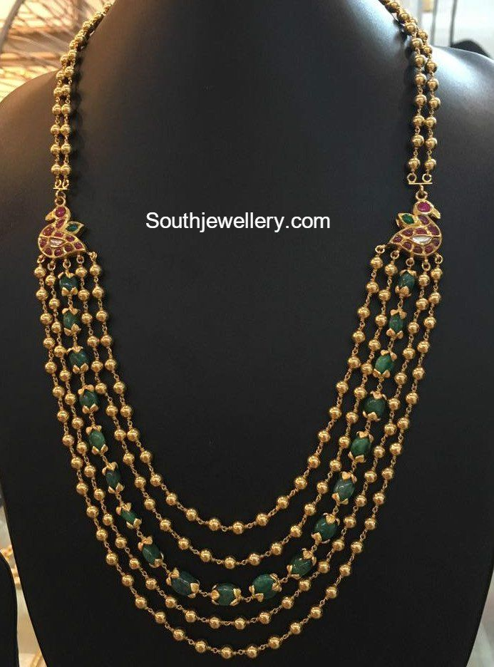 Antique Gold Gundla Mala