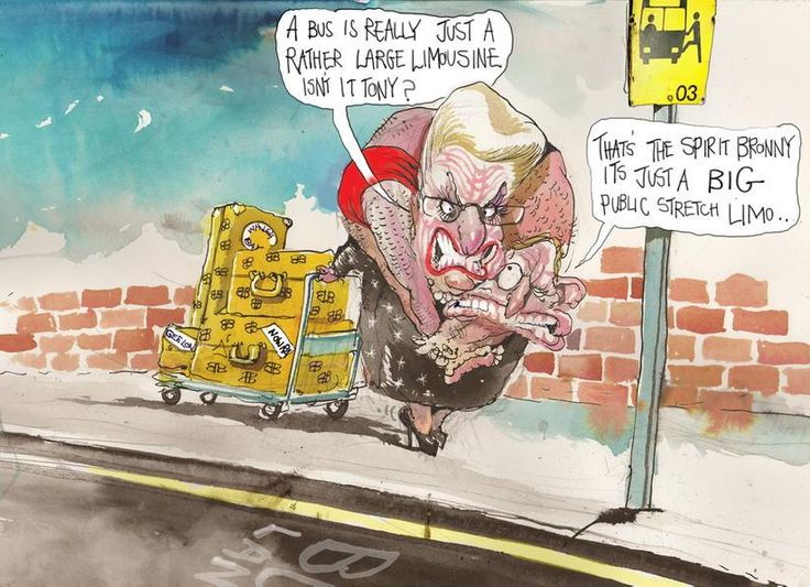 .@BloggerMe3 a new visage of the #bodypollytick by RT @roweafr Bronwyn's last ride @FinancialReview @PoliticsFairfax #auspol