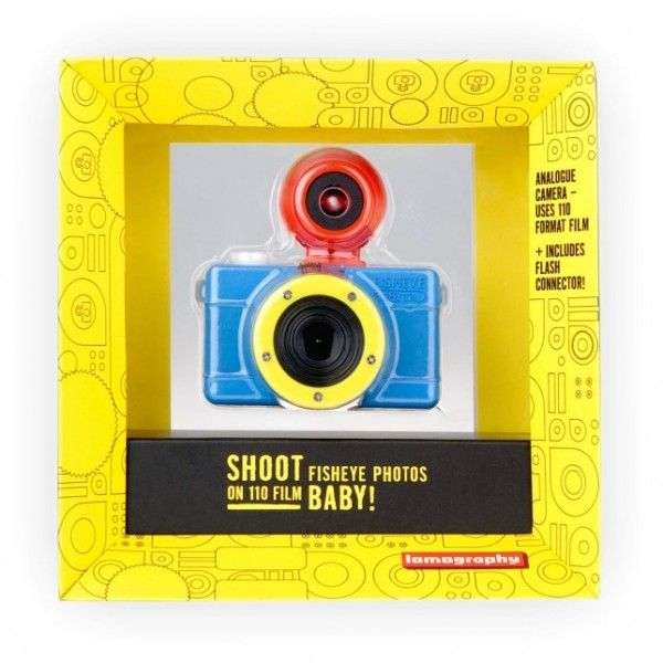Appareil photo Baby Fisheye 110 multicolore - Lomography